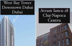 """Clujul a egalat Dubaiul la imobiliare. Ce poti cumpara in centrul orasului pentru 3.000 de euro metrul patrat: """"Preturi pentru printi"""""""