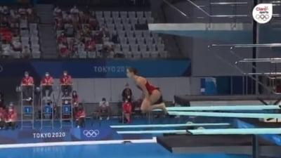 Coșmarul unui sportiv de la Jocurile Olimpice: a luat nota 0.0 după un exercițiu complet ratat VIDEO