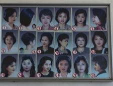 Coafuri aprobate de regimul comunist din Coreea de Nord pentru femei
