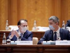 Coalitia transeaza azi rectificarea bugetara. Premierul e in conflict cu liderii USR PLUS. Drula cere de 10 ori mai mult