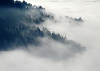 Cod galben de ceata in 17 judete si risc mare de avalansa in Fagaras si Bucegi - UPDATE