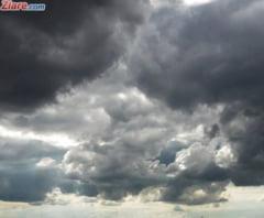 Cod galben de furtuni in jumatate de tara, inclusiv in Bucuresti