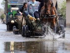 Cod galben de inundatii - ploile nu se opresc
