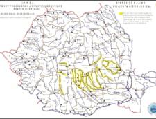 Cod galben de inundatii - vezi judetele afectate