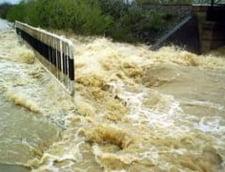 Cod galben de inundatii - vizate, rauri din patru judete