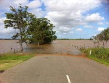 Cod galben de inundatii in 33 de judete si portocaliu in Timis si Caras