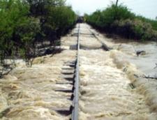Cod galben de inundatii in judetele Bacau, Vrancea, Buzau si Dambovita