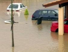 Cod galben de inundatii pe rauri din 9 judete