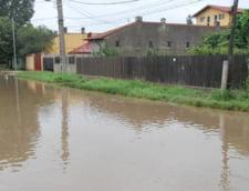 Cod galben de inundatii pe rauri din Dolj, Olt si Teleorman