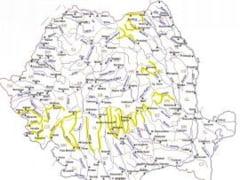 Cod galben de inundatii pentru 16 judete
