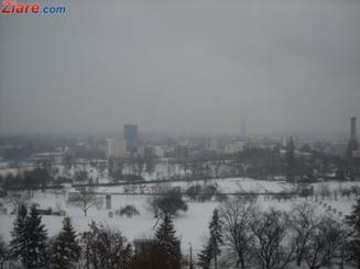Cod galben de ninsoare in Bucuresti si 5 judete. Ninge pana la noapte