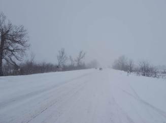 Cod galben de ninsori si viscol in Bucuresti si noua judete