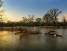 Cod galben si portocaliu de inundatii pe Dunare: 11 judete sunt amenintate pana pe 30 aprilie