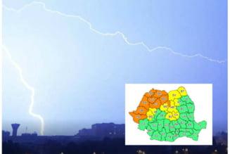 Cod portocaliu de furtuni in Bihor