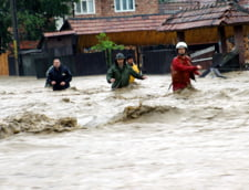 Cod portocaliu de inundatii in Galati si Vaslui