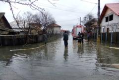 Cod portocaliu de inundatii in Timis