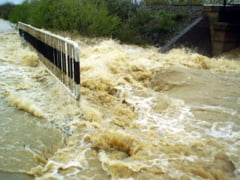 Cod portocaliu de inundatii in judetul Prahova