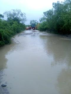 Cod rosu de inundatii in Bistrita Nasaud. Populatia a fost avertizata prin Ro Alert
