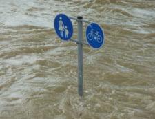 Cod rosu de inundatii in Suceava