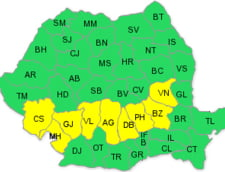 Codul galben de ploi, prelungit in judete afectate de inundatii