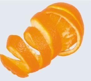 Combustibil din coji de portocale
