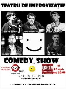 Comedy.Show - Teatru de improvizatie ca la carte, la Braila