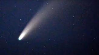 Cometa Neowise, vizibila cu ochiul liber si de pe teritoriul Romaniei