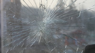 Comisari de mediu atacati la Arad. Un barbat recalcitrant le-a spart parbrizul masinii de serviciu