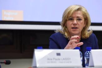 Comisarul Corina Cretu se tine de glume si nu stie cum il cheama pe ministrul Fondurilor Europene