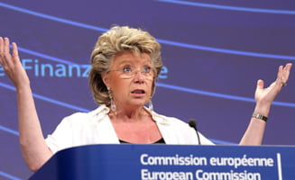 Comisarul Reding ii scrie lui Ponta: ingrijorare fata de independenta judecatorilor