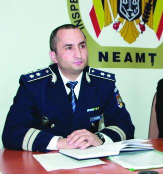 Comisarul-sef Neculai Catana, noul sef al Politiei
