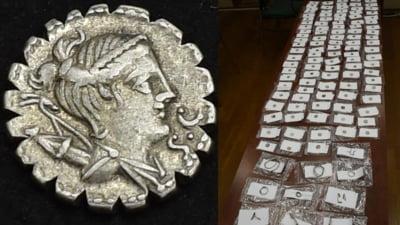 """Comoara incredibilă găsită de un oltean care săpa în curtea casei: oala de ceramică plină cu monede. """"Este o descoperire de o valoare excepțională"""""""