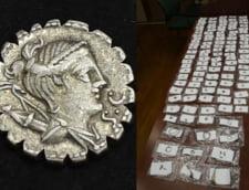 """Comoara incredibila gasita de un oltean care sapa in curtea casei: oala de ceramica plina cu monede. """"Este o descoperire de o valoare exceptionala"""""""