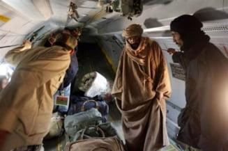 Comoara lui Gaddafi, cautata in desert