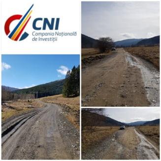 Compania Nationala de Investitii vine cu vesti despre drumul care va lega Valea Doftanei de judetul Brasov