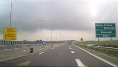 Compania de Drumuri a avizat începerea lucrărilor pe două sectoare din Autostrada de Centură Bucureşti Sud