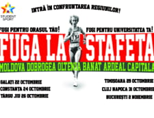 "Competitia ""Fuga la stafeta!"", la start"