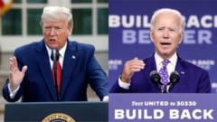 Competitie stransa la alegerile din SUA, in statele cheie. Biden il conduce pe Trump la nivel national