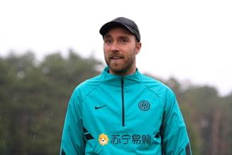 Comunicatul lui Inter Milano despre danezul Eriksen dupa infarctul suferit la EURO 2020
