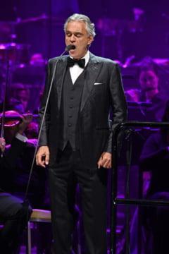Concert Andrea Bocelli in Domul din Milano, in ziua Pastelui catolic (Video)