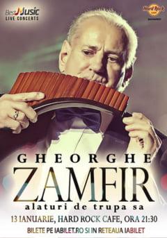 Concert Gheorghe Zamfir si trupa