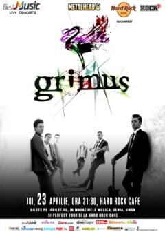 Concert Grimus in Hard Rock Cafe