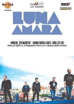Concert Luna Amara in Hard Rock Cafe