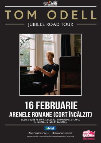 Concert Tom Odell, pe 16 februarie, la Arenele Romane