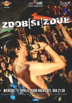 Concert Zdob si Zdub pe 17 aprilie in Hard Rock Cafe