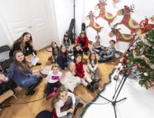 Concert caritabil la Hard Rock Cafe sustinut de elevii scolii de muzica Sonore We