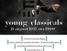 Concert extraordinar Young Classicals la Universitatea Nationala de Muzica Bucuresti pe data de 21 august 2021!