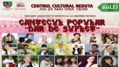 Concert umanitar cu artisti consacrati ai cantecului popular