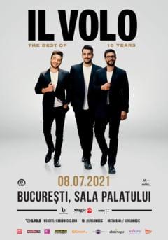 Concertul trupei Il Volo se amana pentru vara anului urmator