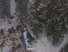 Concluziile tragediei aviatice din Apuseni: Copilotul era la mansa, nu Adrian Iovan. De ce s-a prabusit?